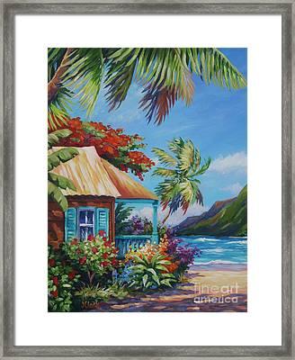 Garden Isle Framed Print by John Clark
