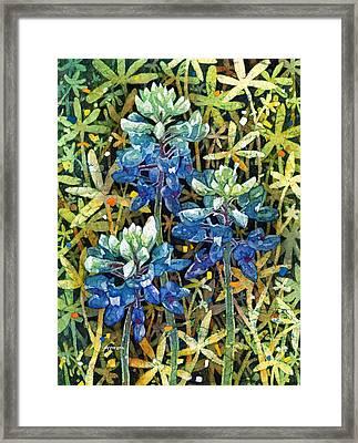 Garden Jewels II Framed Print