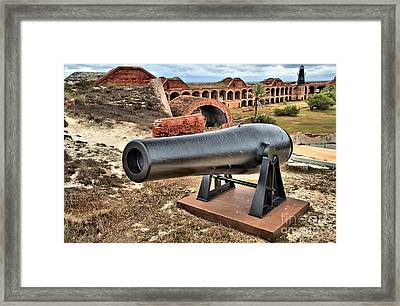 Garden Key Defense Framed Print by Adam Jewell