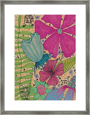 Garden Magic Framed Print