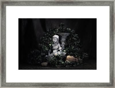 Garden Maiden Framed Print by Tom Mc Nemar