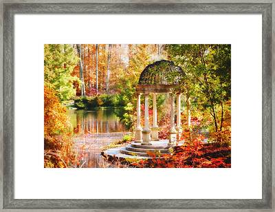 Garden Of Beauty Framed Print