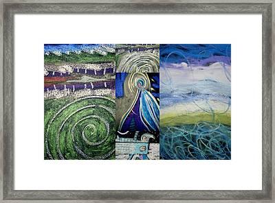 Garden Of Eaten 3 Framed Print by Clarity Artists