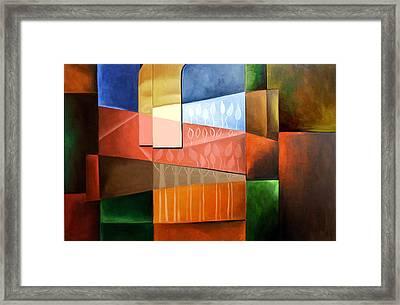 Garden Of Eden Framed Print by Anthony Falbo
