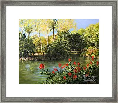 Garden Of Eden Framed Print by Kiril Stanchev