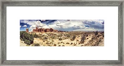 Garden Of Eden Framed Print by Pair of Spades