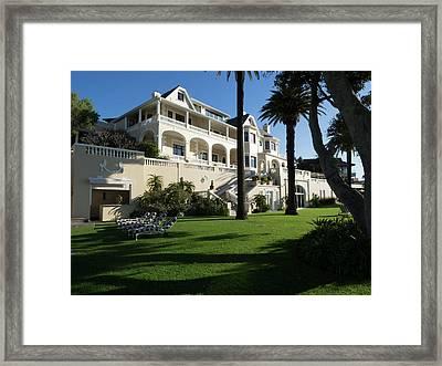 Garden Of Ellerman House, Bantry Bay Framed Print