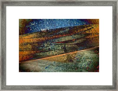 Garden Of Light Framed Print by Odd Jeppesen
