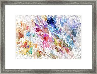 Garden Of Praise Framed Print by Margie Chapman