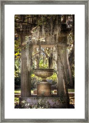 Garden Of Remembrance Framed Print by Mark Andrew Thomas