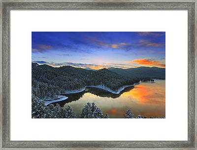 Framed Print featuring the photograph Garden Of The Gods by Kadek Susanto