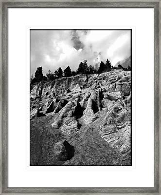 Garden Of The Gods Framed Print by Lisa Alex