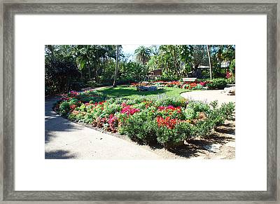 Garden Park Framed Print by Aimee L Maher Photography and Art Visit ALMGallerydotcom