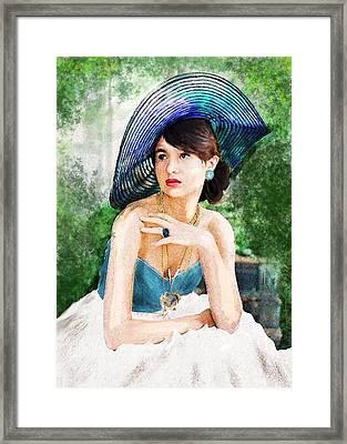Garden Party Framed Print by Jane Schnetlage