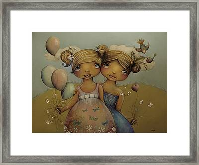 Garden Party Framed Print by Karin Taylor