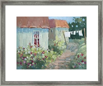 Garden Path  Framed Print by Joyce Hicks
