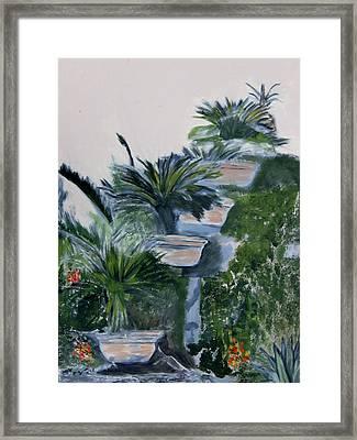 Garden Scene 2 Framed Print by Dan Twyman