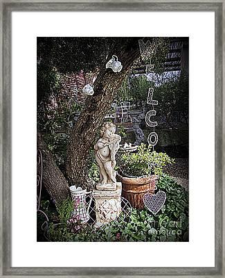 Garden Simphony Framed Print