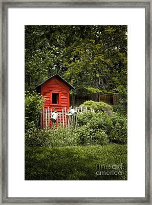 Garden Still Life Framed Print by Margie Hurwich