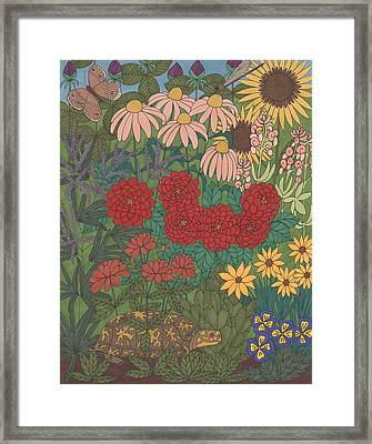 Garden Treasures Framed Print