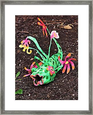 Garden Variety Fish 2 Framed Print by Sarah Loft