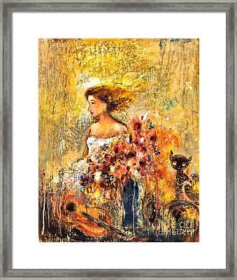 Garden Viii Framed Print by Shijun Munns