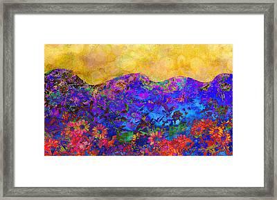 Garden Wall Two Framed Print