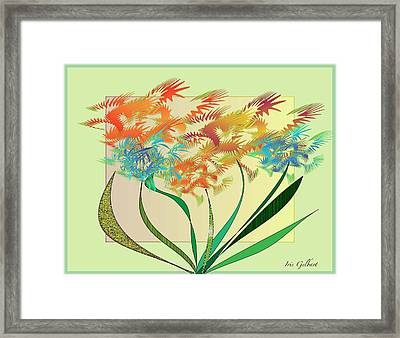 Garden Wonder Framed Print