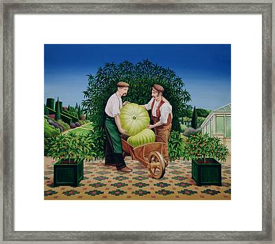 Gardeners Framed Print by Anthony Southcombe