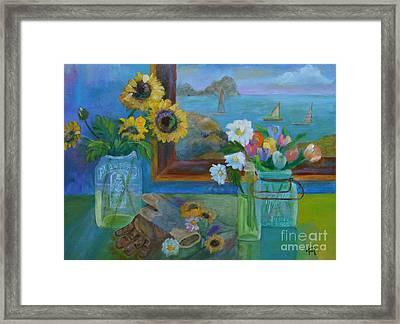 Gardener's Bounty Framed Print by Lynn Rattray