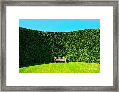 Gardening Zones Framed Print