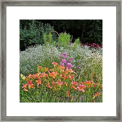 Gardens 101 Framed Print by Patsy Pratt