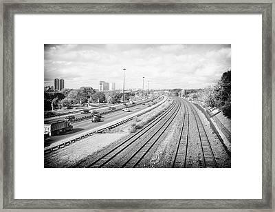 Gardiner Expressway Framed Print by Tanya Harrison
