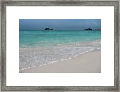 Gardner Bay, Espanola Island, Galapagos Framed Print