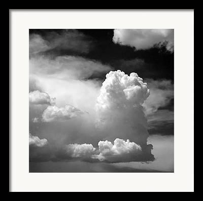 Dark Grey Framed Prints