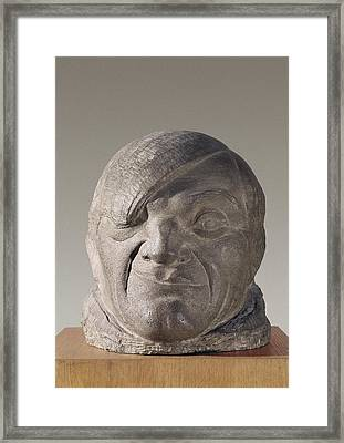 Gargallo, Pablo 1881-1934. Pablo Framed Print