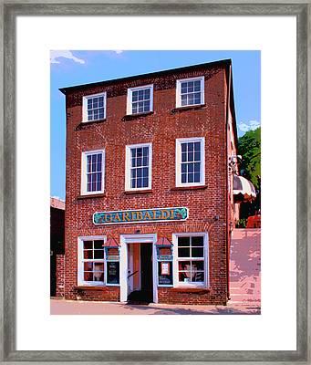 Garibaldi Charleston Sc Framed Print