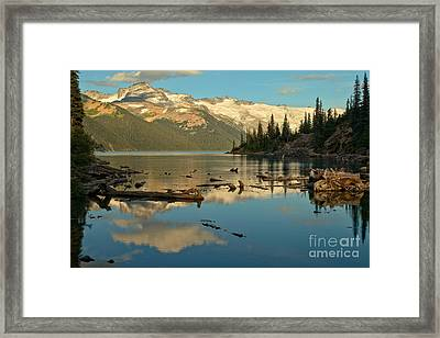 Garibaldi Lake Landscape Framed Print by Adam Jewell