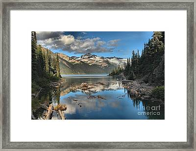 Garibaldi Lake Reflections Framed Print by Adam Jewell
