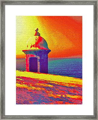Garita Framed Print by Edgar Torres