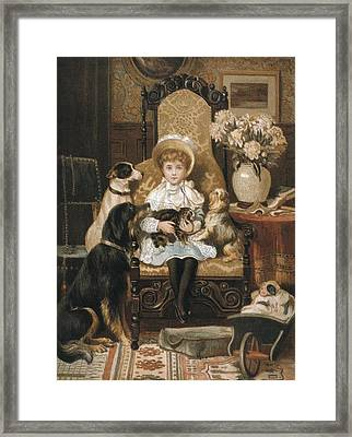 Garland, Valentine Thomas Second Half Framed Print by Everett