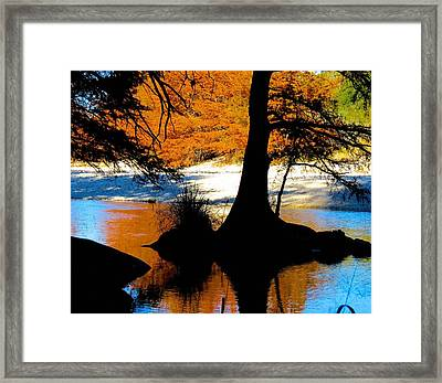 Garner State Park Framed Print by David  Norman