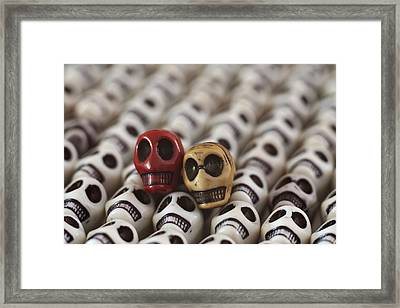 Garnet And Gold Framed Print by Mike Herdering