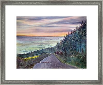 Garrowby Hill Framed Print
