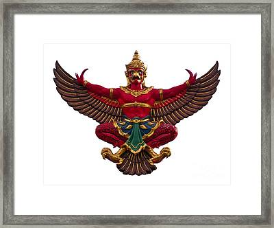 Garuda Framed Print