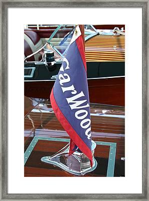 Garwood Burgee Framed Print