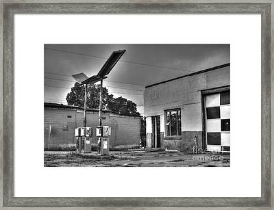 Gas  Framed Print