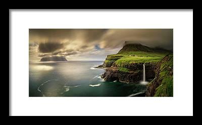 Faroe Island Framed Prints