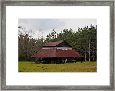 Gaskins Family Barn Series IIi Framed Print by Suzanne Gaff