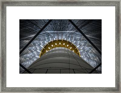Gasometer - Big Air Package Framed Print by Ercan Sahin